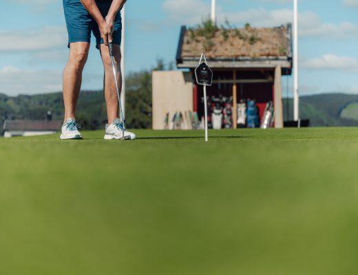 Bilde fra Stiklestad Golfklubb
