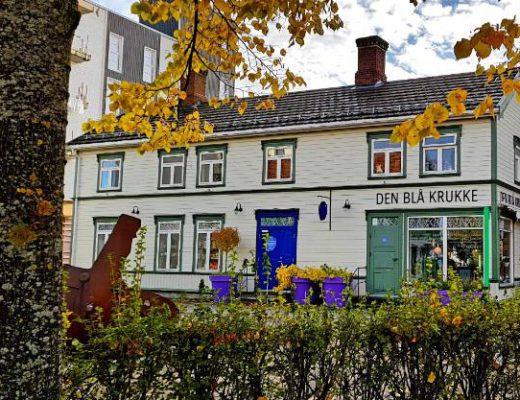 Bilde av butikken den blå krukke