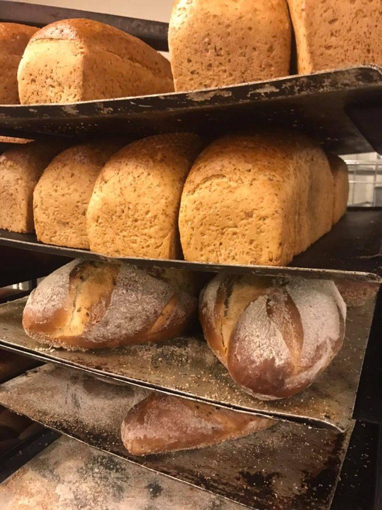 Bilde av brødvarer fra Innherredsbakeriet